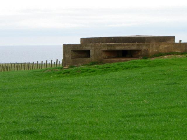 Pillbox near Kirklands