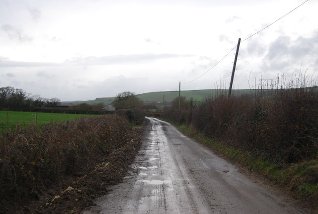 Lane to Lower Farm