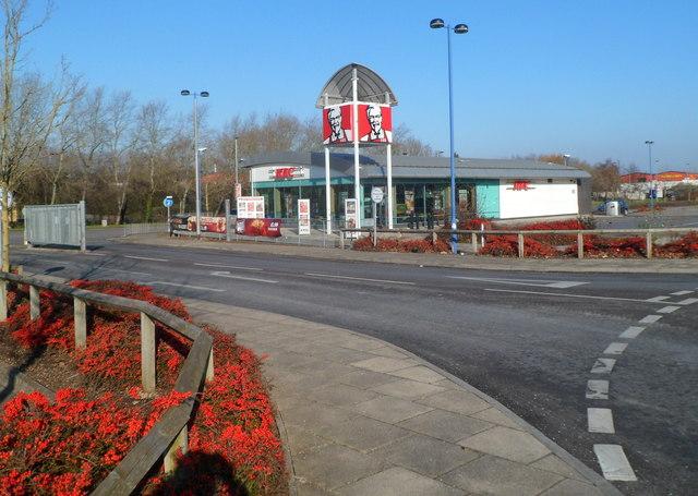 KFC, Docks Way, Newport