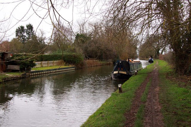 The Oxford Canal by Kidlington