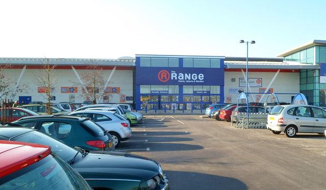 Recently-opened Range store, Newport