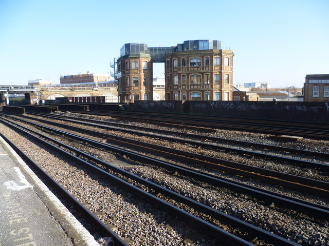 View from Queenstown Road station