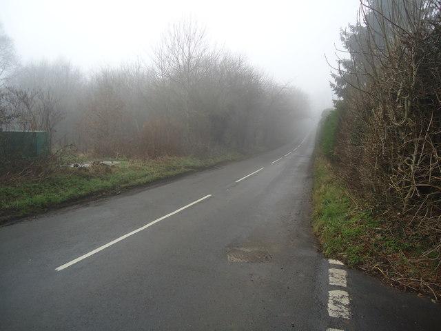 Lane near Goathurst Common