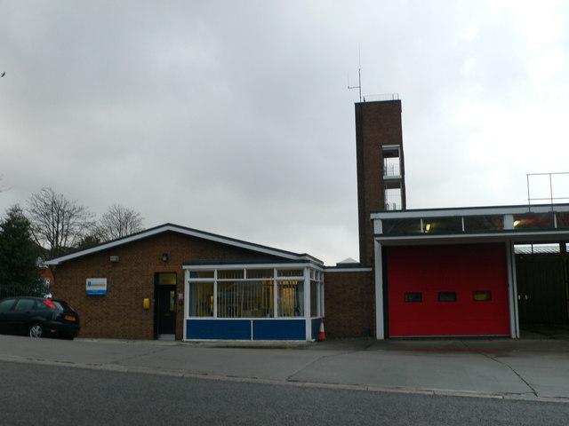 Runcorn Fire Station on Heath Road