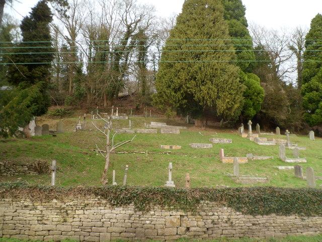 Slad  churchyard