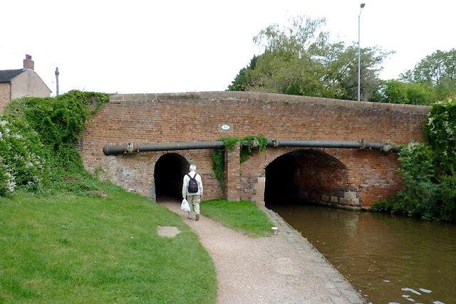 Newcastle Road Bridge at Stone, Staffordshire