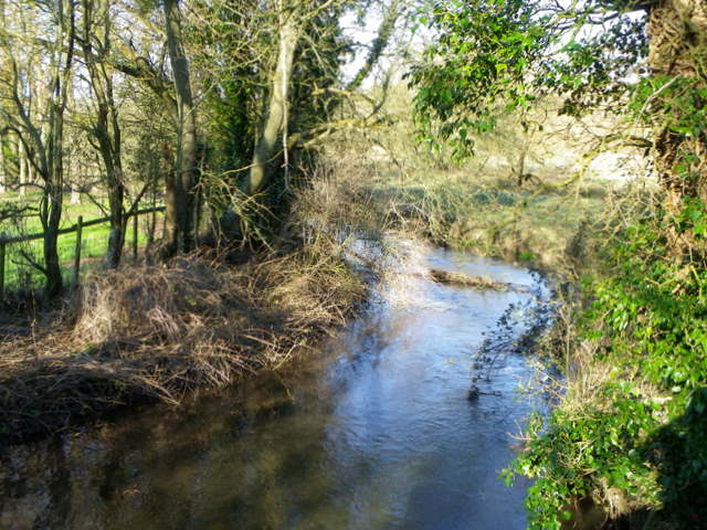 River Ebble, Homington