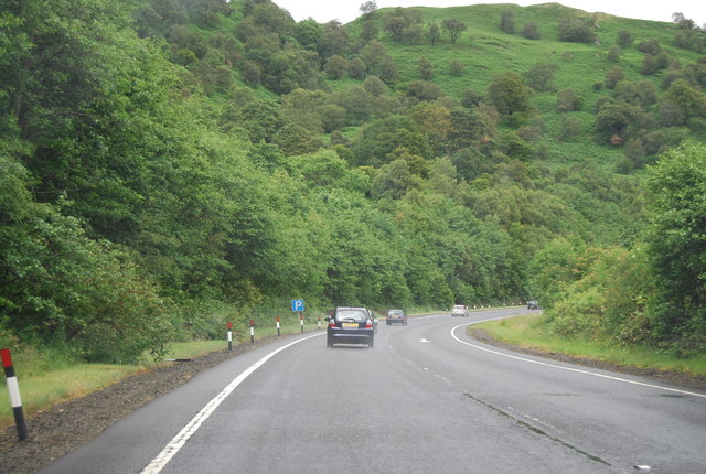 A82 northwards