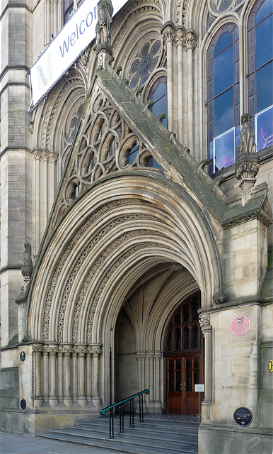 Detail of Town Hall, Albert Square, Manchester (2)