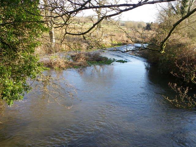 River Ebble, Homington