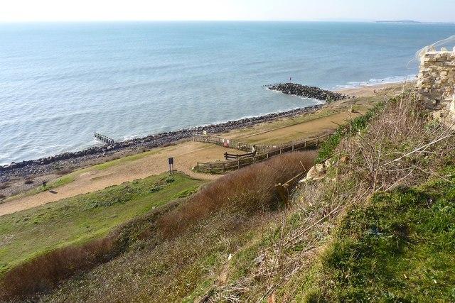 Cliffs and Beach at Barton