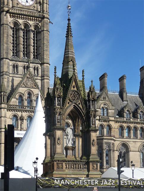 Albert Memorial, Albert Square, Manchester