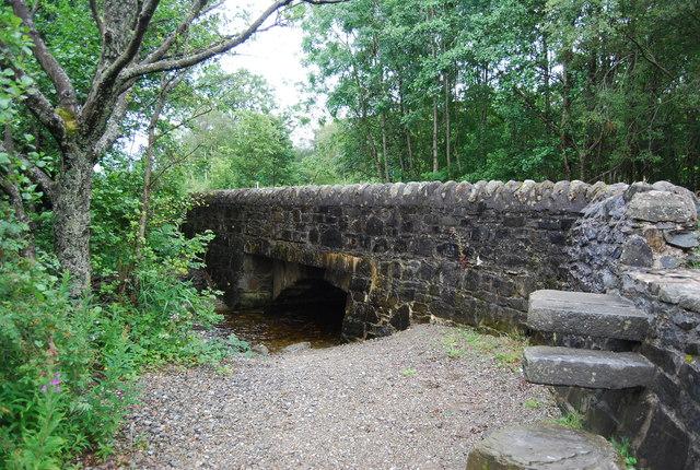 Small bridge, Old Military Road, Loch Lomond