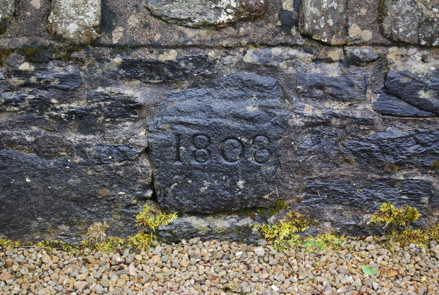 Date Stone, Old Military Road, Firkin Point