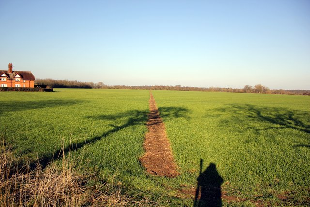 Footpath at Lea Newbold