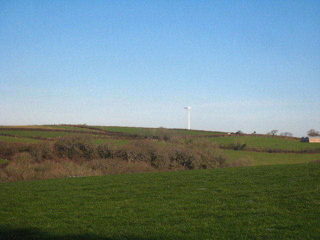 Field at Probus Mill