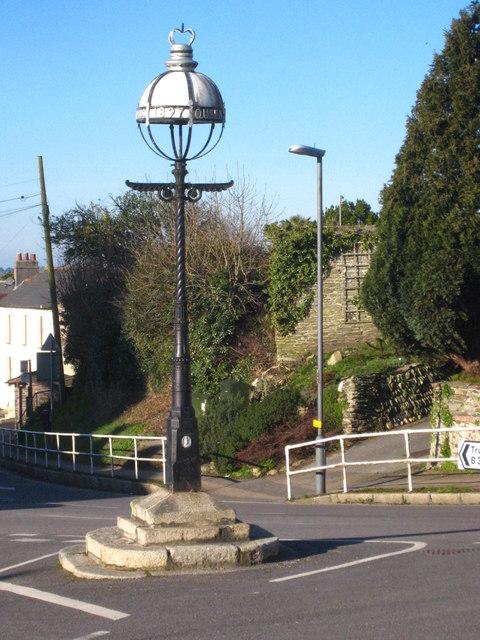 Commemorative lantern in Probus