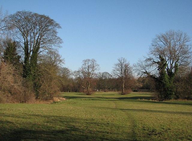 Footpath near Pampisford