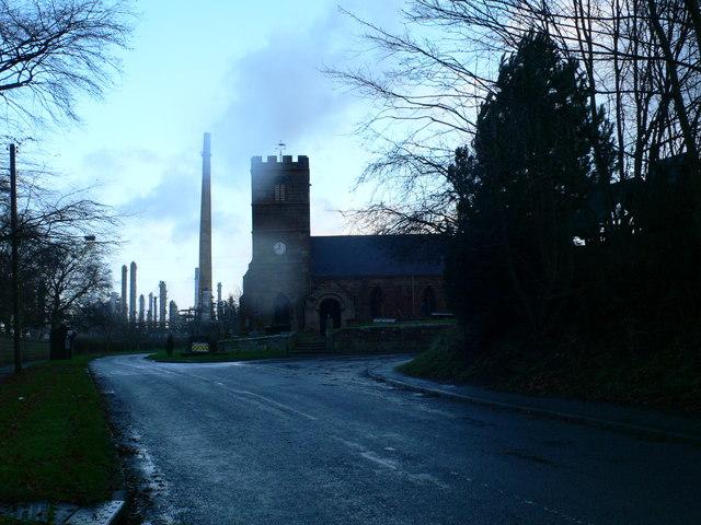 St Mary's Church, Thornton Green Lane