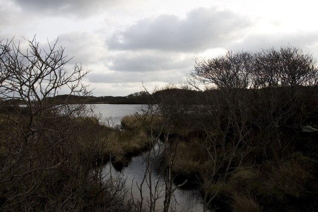 Ardilistry River meets Loch Iarnan, Islay