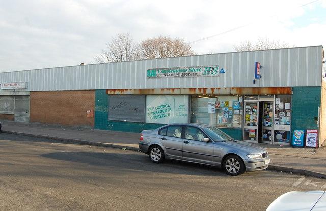 RAI Convenience Store Delves Road