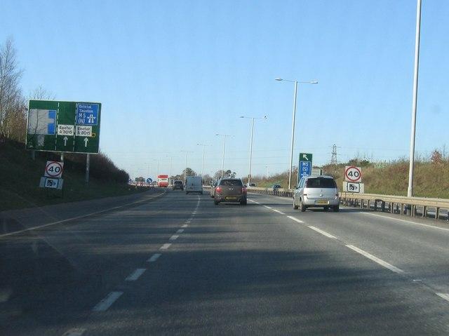 Approaching M5, A30