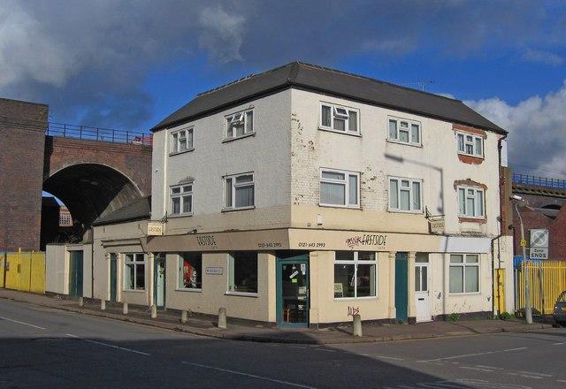Eastside Café (formerly the Dolphin), 99 Coventry Street, Digbeth, Birmingham