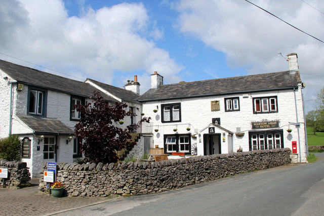 Marton Arms Hotel, Thornton in Lonsdale, Yorkshire