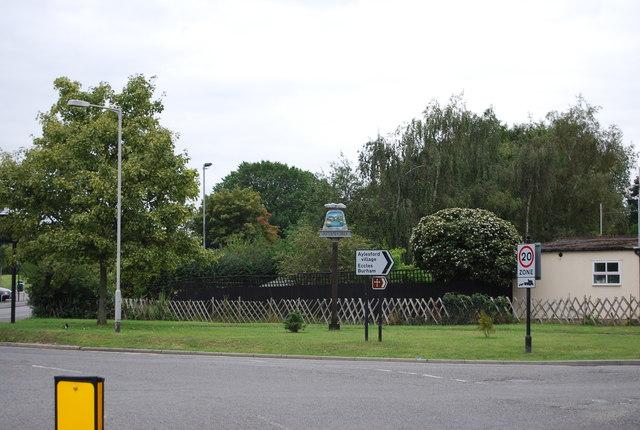 Aylesford Village sign