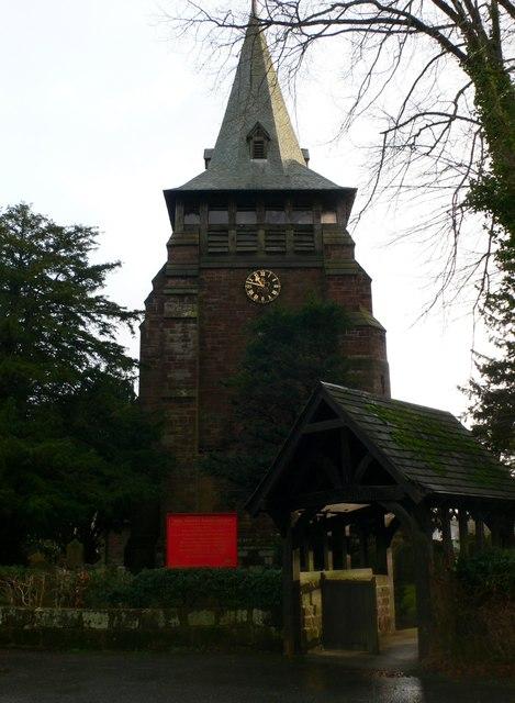 Holy Trinity Parish Church. Capenhurst