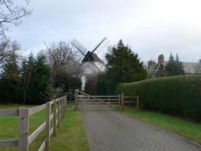 Saughall Windmill - also known as Gibbet Mill
