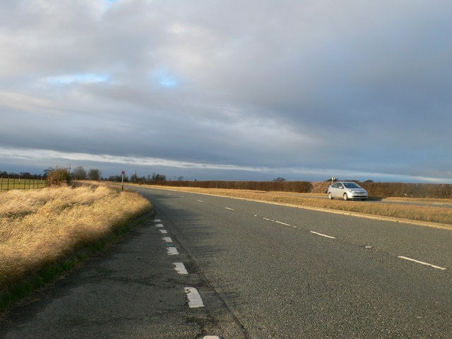 St Asaph Road - the A525