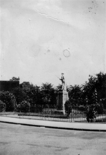 St. Phillips Church War Memorial garden