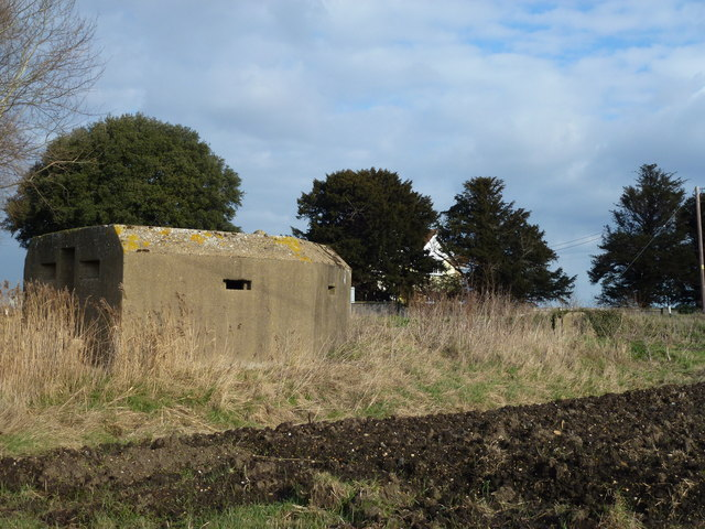 Pillbox at Stone Bridge Corner