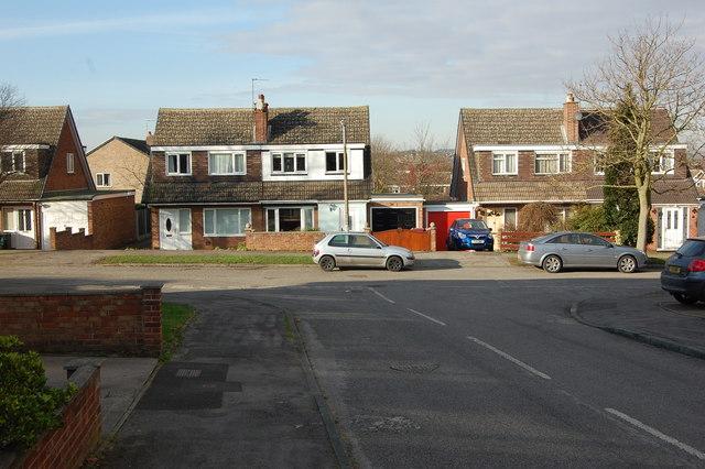 Junction Elm Close & Elm Drive