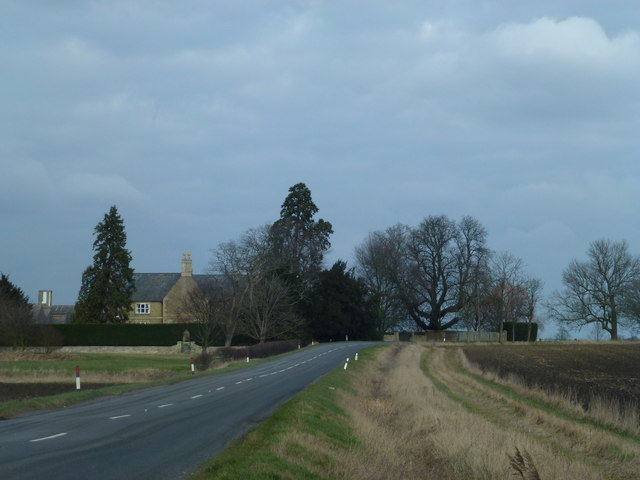 Hill Farm south of Thorney