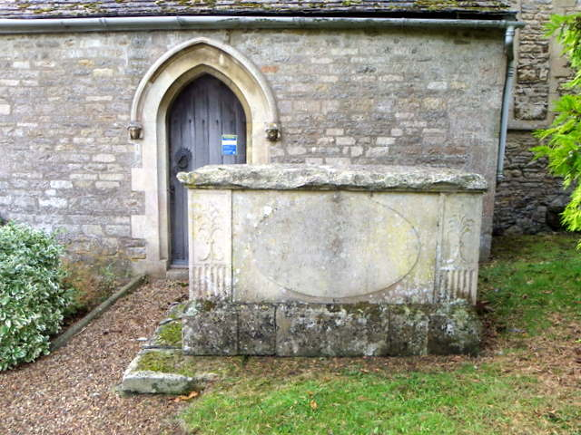 Tomb, St Peter's Church