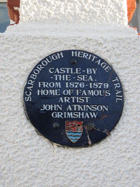 Plaque  Scarborough  Heritage  Trail