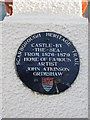 TA0489 : Plaque  Scarborough  Heritage  Trail by Martin Dawes