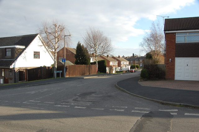 Junction Lime Tree Avenue & Pear Tree Close