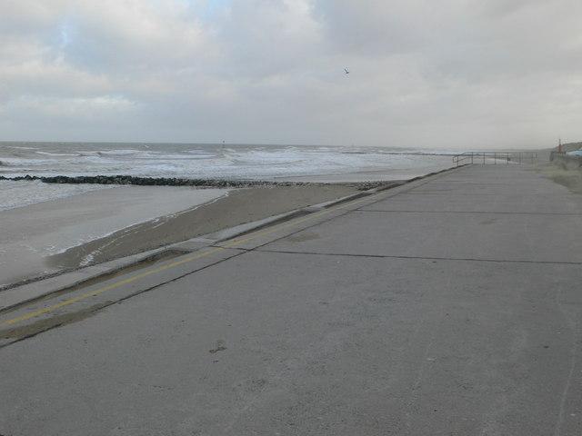 Barkby Beach, on a windy January day
