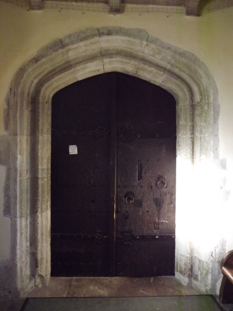 Alton Church Door
