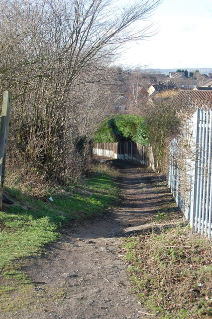 Footpath To Eckington