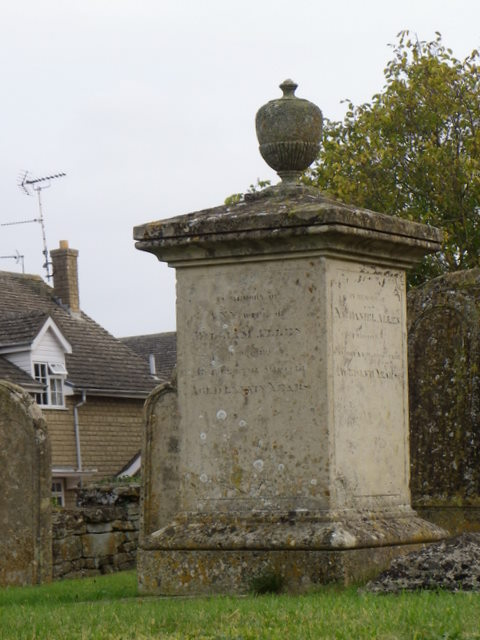 Monument, St Peter's Church