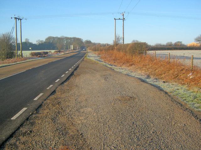 A6006 Melton Road westbound