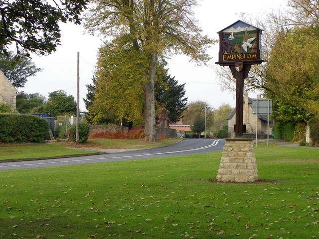 Village sign, Empingham