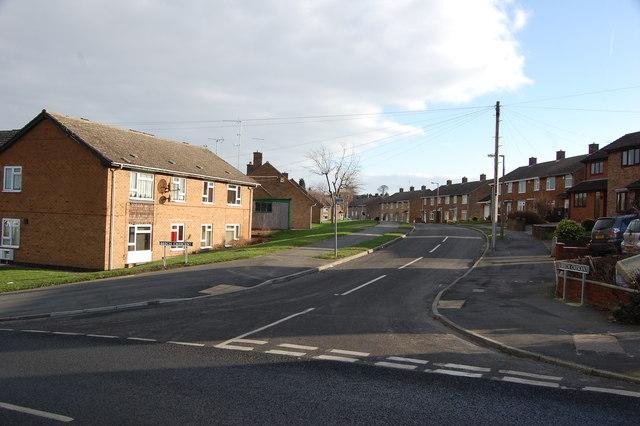 Junction Beech Crescent & Westfield Road
