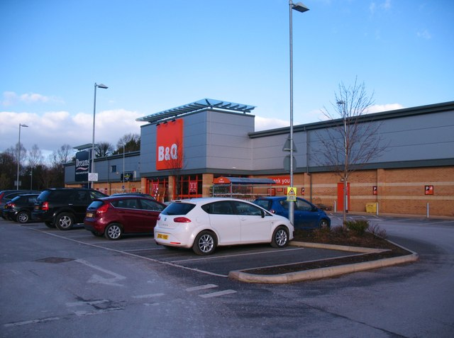 B&Q store Harrogate
