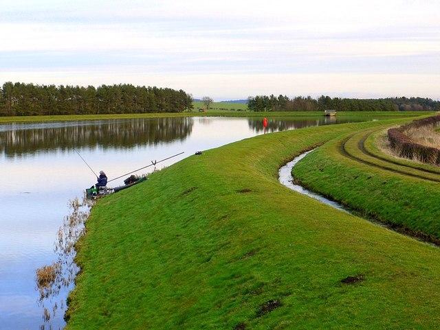 Fishing at Whittle Dene Reservoir