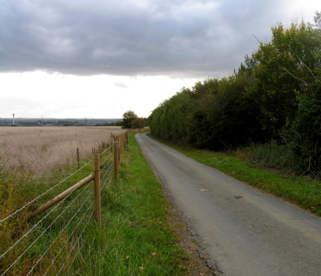 Welby Lane towards Asfordby Valley
